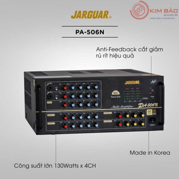 Amply Jarguar PA 506N Anti Feedback-01