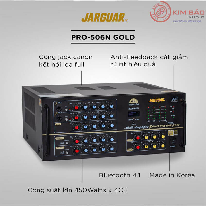 Amply Jarguar Pro 506N GOLD Anti Feedback-01